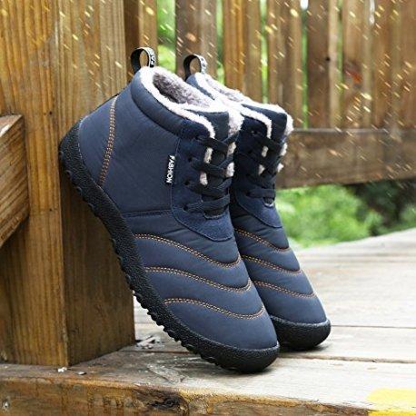 86d660e8fd5496 SAGUARO Homme Femme Chaussures De Neige Bottes Hiver Bottines ...
