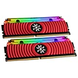 ADATA XPG SPECTRIX D80 16 GB (2x8GB) 4133MHz DDR4 Gaming-DRAM Arbeitsspeicher, rot