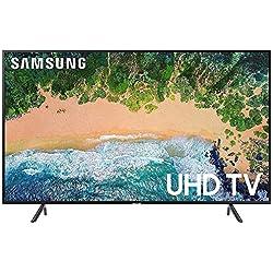 Samsung 108 cm (43 Inches) Series 7 4K UHD LED Smart TV UA43NU7100 (Black) (2018 model)