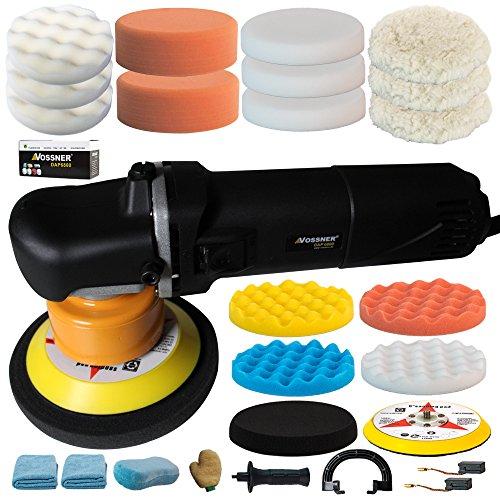VOSSNER ® Poliermaschine Exzenter DAP 6800 Excenter Schleifmaschine Auto Polierer Smart Repair Spezial Set