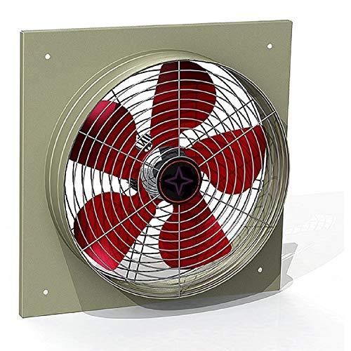 350mm Industriale Ventilatore a Parete 3200m³/h , Aspiratori elicoidali da muro Aspiratore Fan...
