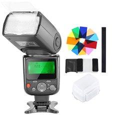 Neewer NW-670 Flash TTL Speedlite con Difusor Duro, 12 Filtros de Color, Kit de Limpieza de Microfibra para Canon 7D Mark II, 5D Mark II III, IV, 1300D,1200D,1100D,750D,700D y Otras Canon Cámaras DSLR
