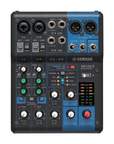 Yamaha - Mesa de mezclas mg06x