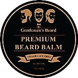 The Gentlemen's Beard - Bálsamo para barba superior - 60 ml - Dome su barba sin engrasarla - Consiga un aspecto más grueso y lleno - Sin perfume