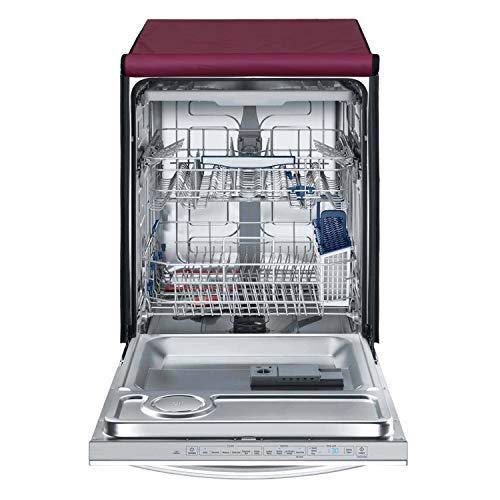 Lithara Waterproof Dishwasher Cover LG D1451WF 14 Place Settings,Maroon