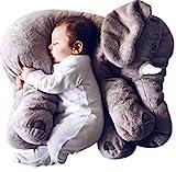 Blivener Baby Kids Soft Cute Stuffed Plush Infant Elephant Pillow Animal Sleep Toy 24IN