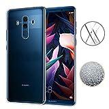 Huawei Mate 10 Pro Funda,TopACE Ultra Slim Transparente TPU Silicona Funda Protective Case Funda Cover para Huawei Mate 10 Pro (Transparente)