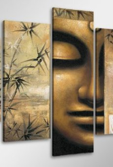 100 x 50 cm Cuadro en Lienzo Buda 6410-SCT- Imagen/Impresion/Pintura Listo para Colgar