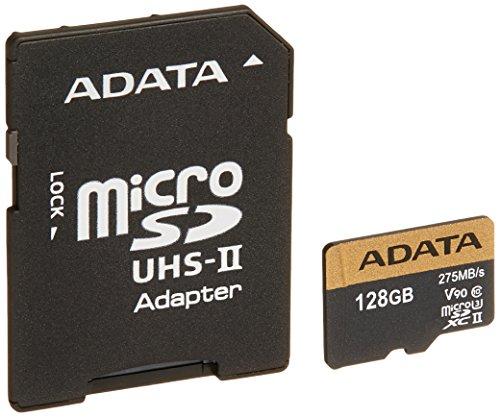ADATA Premier ONE V90 memoria flash 128 GB MicroSDXC Classe 10 UHS-II