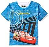 Cars Boys' Animal Print Regular Fit T-Shirt (DCR0011_Blue_13-14Y)