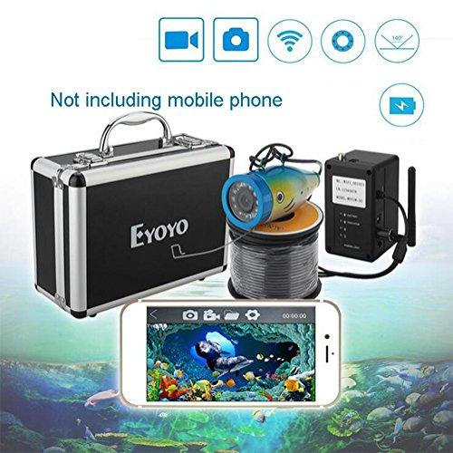 Cutepet Cercatori Dei Pesci Fishfinder 50M WIFI Connessione Cellulare Dispositivo Di Phishing Video Hd Monitor Subacqueo Fish Detector TF-92013