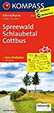 KOMPASS Fahrradkarte Spreewald - Schlaubetal - Cottbus: Fahrradkarte. GPS-genau. 1:70000 (KOMPASS-Fahrradkarten Deutschland, Band 3047)