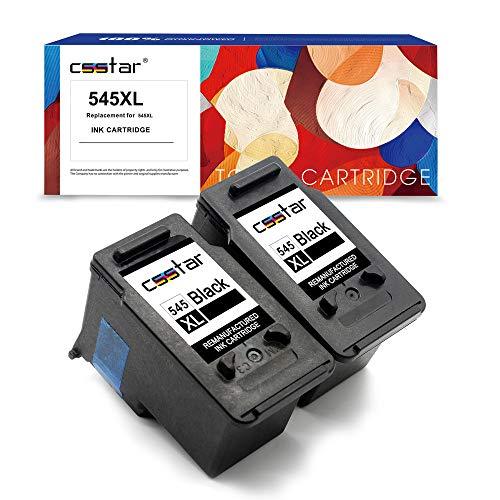 CSSTAR Rigenerate Cartucce d'inchiostro Compatibili per Canon 545 PG-545XL per Pixma MG2550S MG2950...
