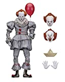 "NECA Stephen Kings Es 7"" Ultimate Action Figure Pennywise 2017"