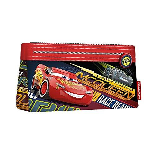 Cars 3 Race Astuccio Portapastelli Portapenne Colori Pennarelli Matite