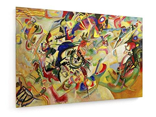 Wassily Kandinsky - Composizione VII - 1913 - 90x60 cm - Belle stampe d'arte tela textile - arte...