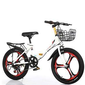 SYCHONG Niño De Bicicletas De Montaña De Velocidad Variable Bicicleta Plegable De MTB Niño De Tres Cuchillo Freno De…