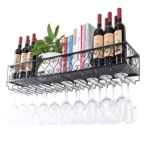 Portabottiglie da parete in metallo ferro griglia creativa attaccatura portabottiglie vino grande...
