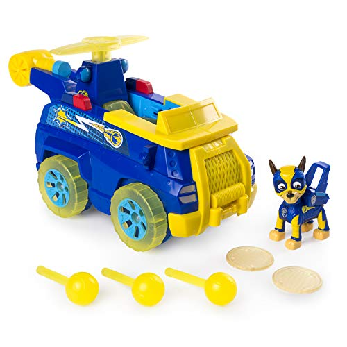 PAW PATROL 6055190 Mighty Pups Flip & Fly Chase, Blu