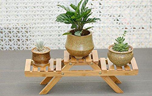 Parquet da pavimento in legno massello da salotto a più livelli con portafiori da fiori per balconi...