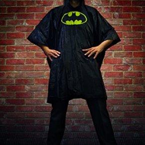 Paladone- Batman Chubasquero hombre, Talla única (PP3634DC)