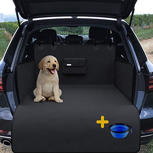 Universal Kofferraumschutz für Auto und Hund | Schondecke mit Transportbeutel - rutschfest wasserdicht waschbar | Weiche Hundedecke | Kofferraum Schutzdecke | Hundeschutz | Kofferraum Decke und Matte