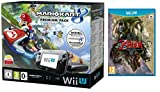 Pack Nintendo Wii U 32Go + Mario Kart 8 (préinstallé) + The Legend of Zelda Twilight Princess HD