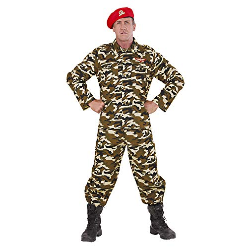 WIDMANN Widman - Disfraz de soldado adultos, talla S