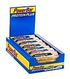 Powerbar Protein Plus Reduced in Carbs Riegel, Vanille, 1er Pack (1 x 30 Stück)
