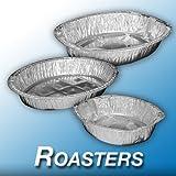 Disposable Foil Roasting/Turkey Tray/Dish 46cm X 34cm X 8.5cm Buy 1 Get 1 FREE (KC0100)