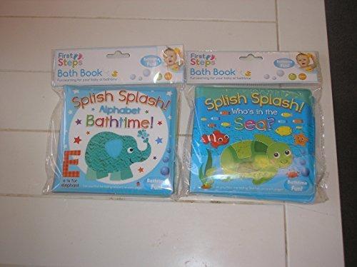 Confezione da 2 libri sul mare per bambini, impermeabili, ideali per favorire l'apprendimento...