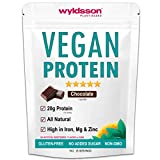 Vegan Protein Powders (1kg) with Vital Minerals | High in Iron | with Organic Plant Protein Powder | Gluten Free | Lactose Free | Dairy Free Blend for Vegan Nutrition Warriors (Chocolate)