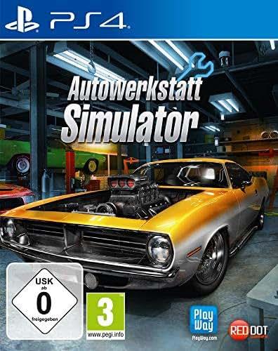 Autowerkstatt Simulator [Playstation 4]