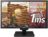 LG 24GM79G-B 60,96 cm (24 Zoll) UltraGearTM Full HD Gaming Monitor (144 Hz, 1ms MBR, AMD Radeon FreeSync, DAS Mode), schwarz