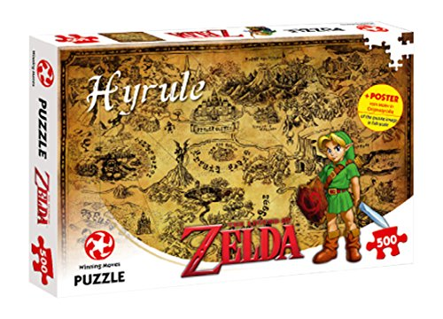 Winning Moves Puzzle The Legend of Zelda Hyrule Field, 500 Pezzi, 29490