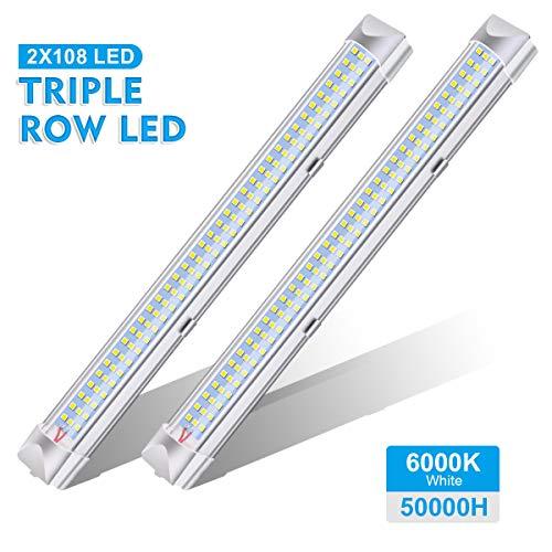 AMBOTHER Luci Interne 12V LED Strip Lights 108 LEDs Bar Lampada Illuminazione Universale DC12V 4W...