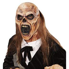 WIDMANN Máscara Zombie enterrador Pelo Adulto Halloween - Única