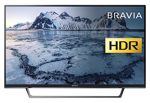 Sony Bravia KDL40WE663 (40-Inch) Full HD HDR Smart TV (X-Reality PRO, Slim and streamlined design) - Black (2017 Model)