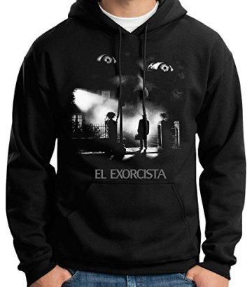 35mm - Sudadera con Capucha El Exorcista-The Exorcist Terror Movie, Unisex 3