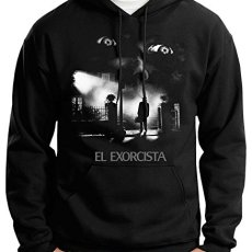 35mm – Sudadera con Capucha El Exorcista-The Exorcist Terror Movie, Unisex