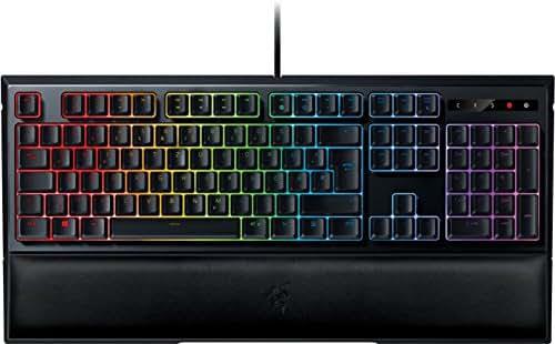 Razer Ornata Chroma Gaming Tastatur (mit Mecha-Membran Switches, Chroma RGB Beleuchtung mit Handballenauflage)