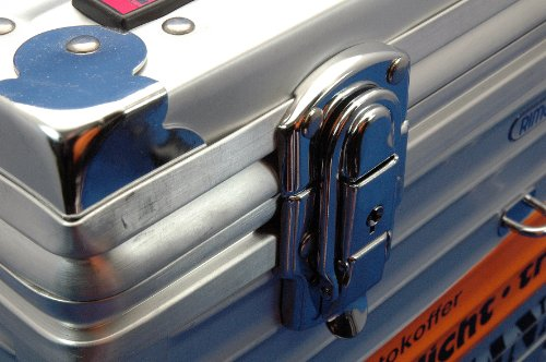 Rimowa Tropicana Foto/Video Aluminium  koffer (Wasserdicht, Staubdicht, Tropenfest) silber - 5