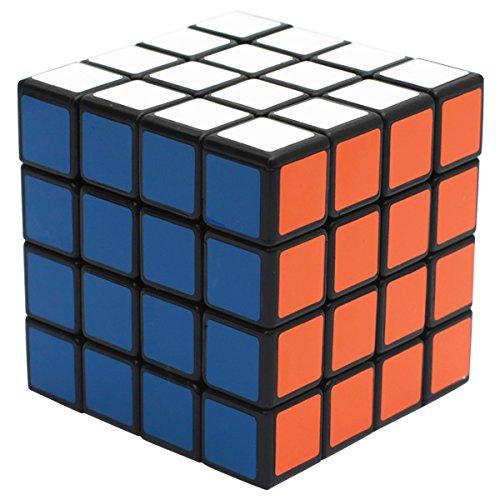 EASEHOME 4x4x4 Cubo Magico Speed Cube, 4X4 Magic Puzzle Cube con PVC Adesivo per Bambini e Adulti,...