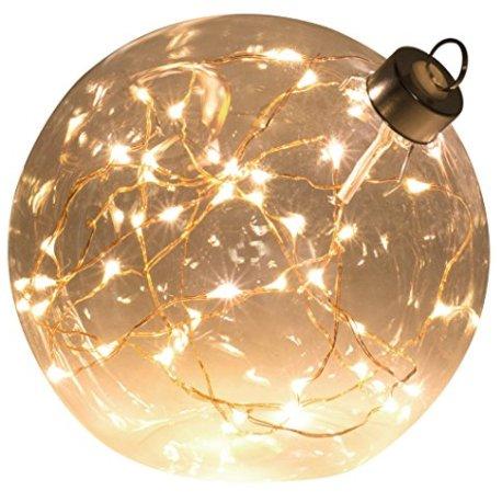 Light-Creations-Glasslight-Boule-de-Nol-Lumineuse-Micro-LED-Verre