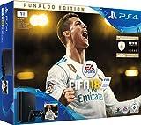 PlayStation 4 - Konsole (1TB, schwarz, slim) + Fifa 18 Ronaldo Edition (deluxe)