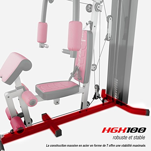 Sportstech VAINQUEUR du Test* La Station de Musculation Premium 30en1 HGX100 de pour des Variantes d'entraînement innombrables. Home-Gym Mul... 30
