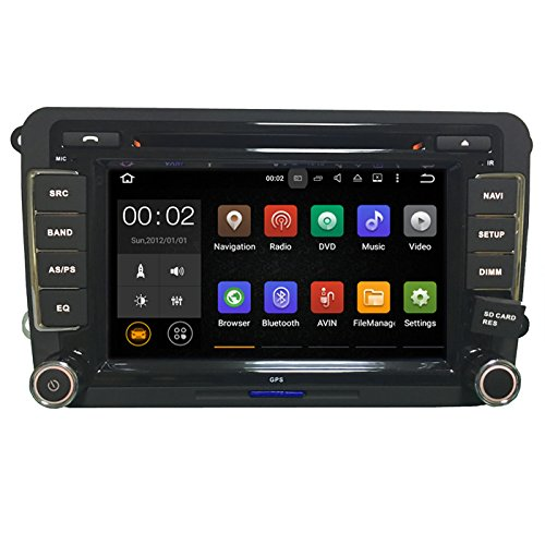"""CAR AXIS Volkswagen Vento/Polo DVD GPS 7"""" Touchscreen, Bluetooth Indash Car Multimedia Player with Navigation maps"""