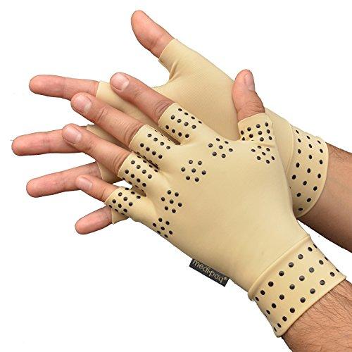 Guanti Magnetici di Benessere per TERAPIA Anti-Artrite Medipaq