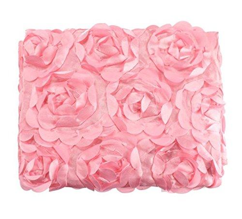 Taonaisi neonato fotografia puntelli foto 3D rosa fiore fondale beanbag coperta tappeto...