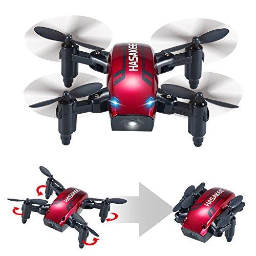 HASAKEE Mini Drone Pieghevole con Controllo Altitudine e Funzione Headless,2.4Ghz Sensore...